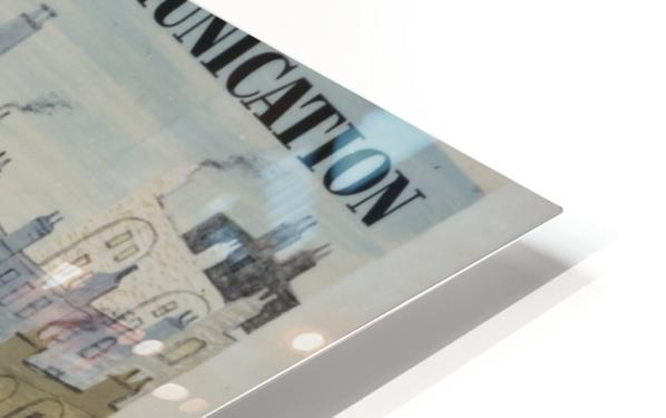 Post Office Lines of Communication HD Sublimation Metal print