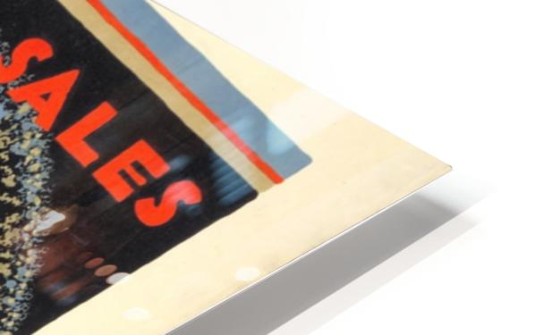 Winter sales are best reached by the underground HD Sublimation Metal print