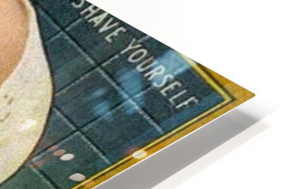 Gillette Safety Razor HD Sublimation Metal print