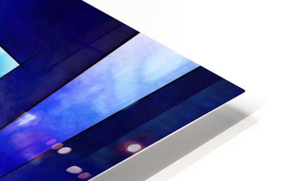 Kefharia V1 - cubic vision HD Sublimation Metal print