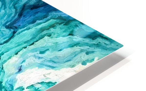 Ocean Floor HD Sublimation Metal print