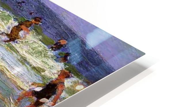 At the Seashore HD Sublimation Metal print