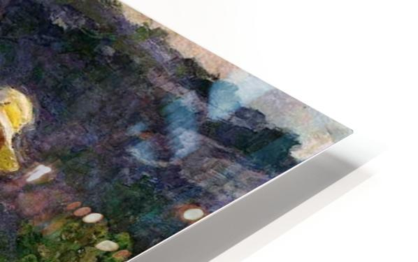 Walking in the Hills HD Sublimation Metal print