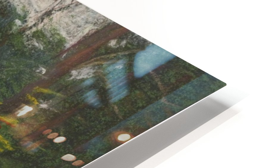 Forest in the spring HD Sublimation Metal print