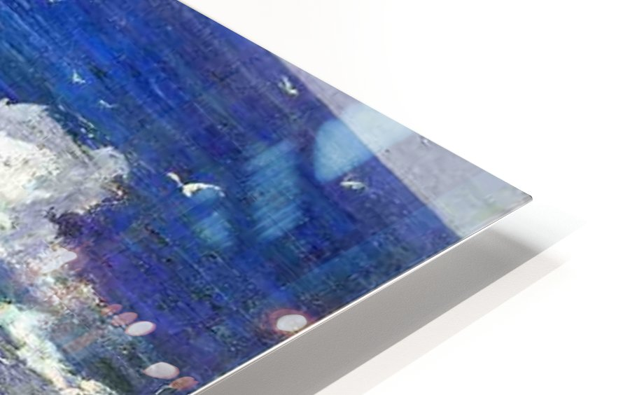 The Maine Coast HD Sublimation Metal print