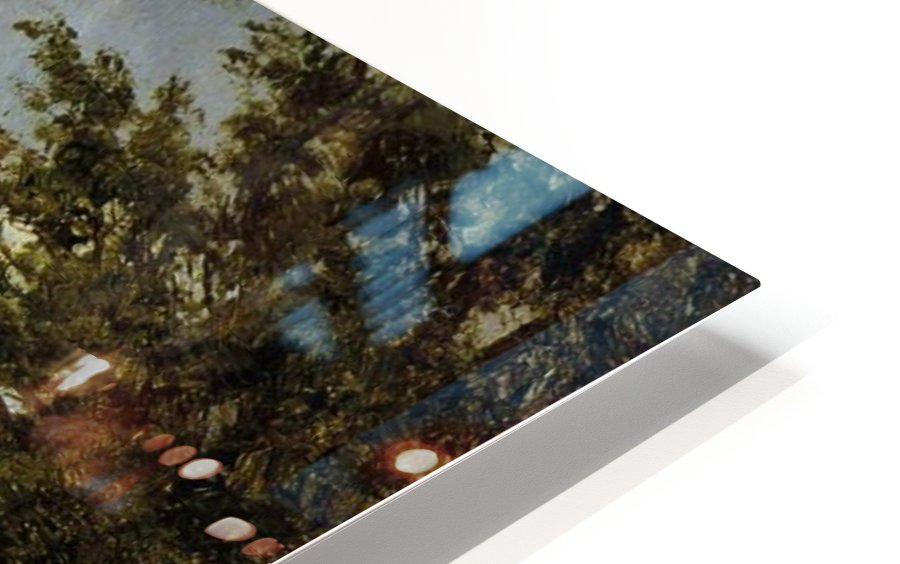 Going to the Village HD Sublimation Metal print
