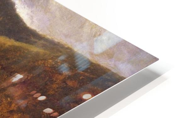 Along the Delaware HD Sublimation Metal print