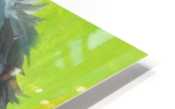 Спаниель HD Sublimation Metal print