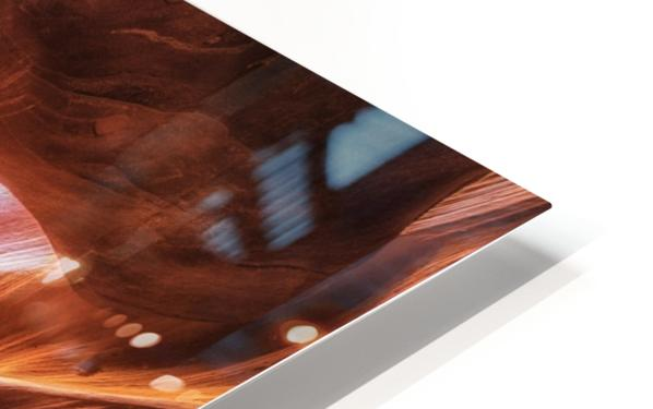 Antelope Canyon 3 HD Sublimation Metal print