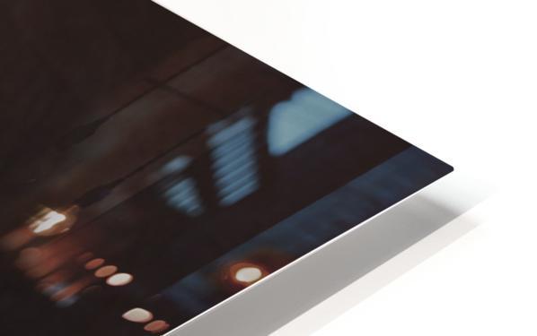 Shih Tzu-Poodle On A Brown Muslin Backdrop HD Sublimation Metal print