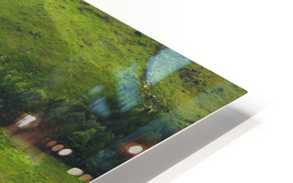 Green Peace, Buttermere, UK HD Sublimation Metal print