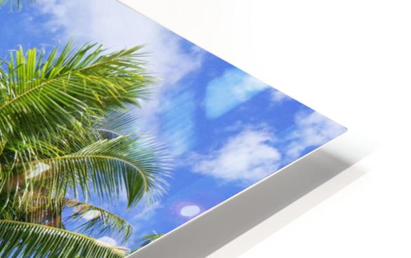 Aitutaki Lagoon Resort, Aitutaki, Cook Islands HD Sublimation Metal print