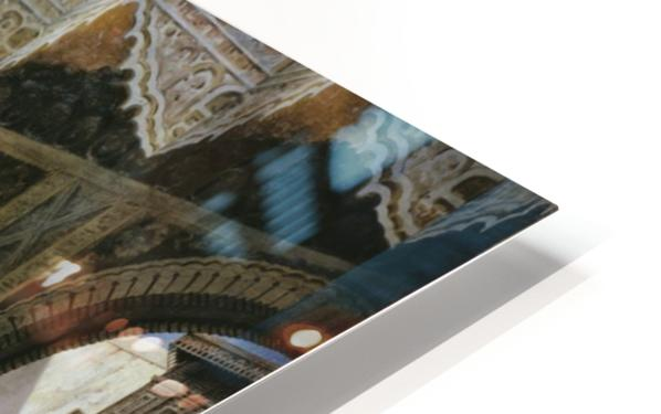 Interior of an oriental mosque HD Sublimation Metal print