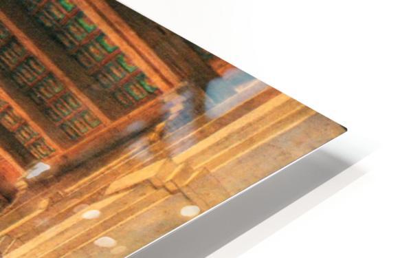 Interieur de la mosquee du Mourestan HD Sublimation Metal print