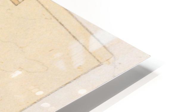 La Famille Jacquemart a Dijon HD Sublimation Metal print