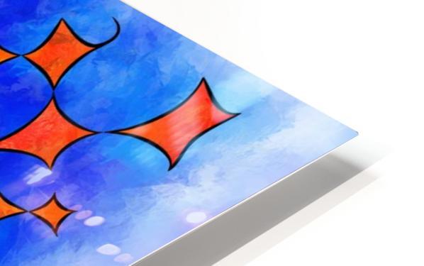 Blesmios V1- melting cubes HD Sublimation Metal print
