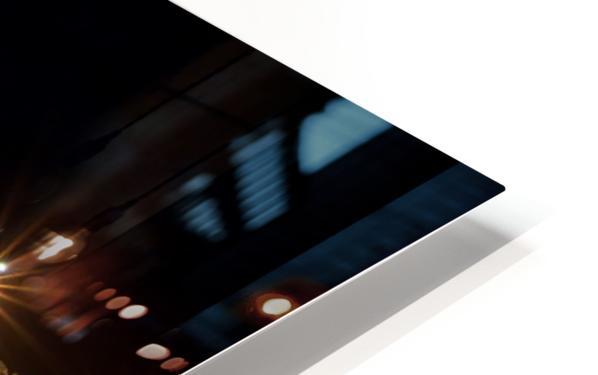 Nighttime at la Digue HD Sublimation Metal print