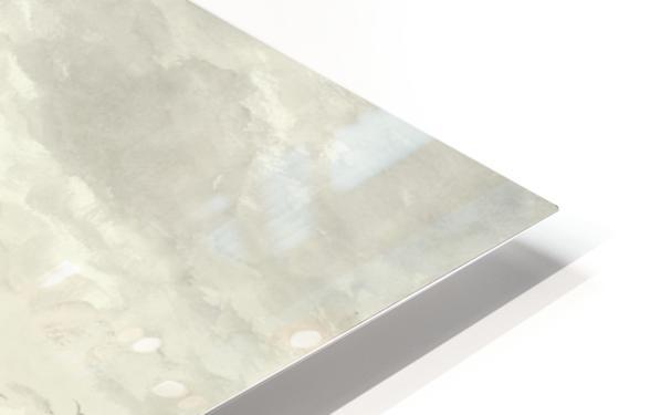 Vissersschepen in de branding HD Sublimation Metal print