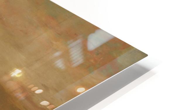 A castle HD Sublimation Metal print