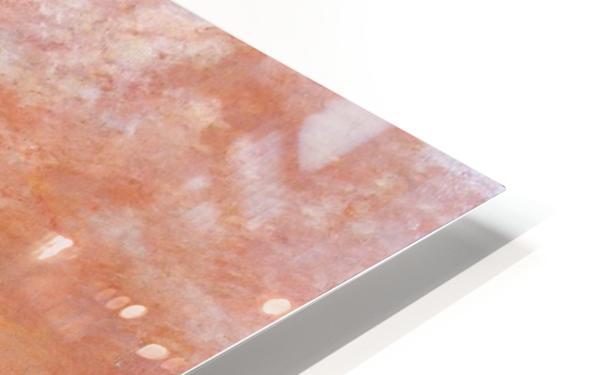 Calm Sea Sun HD Sublimation Metal print