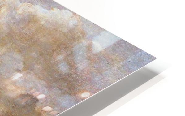 La Mer du Nord Sun HD Sublimation Metal print