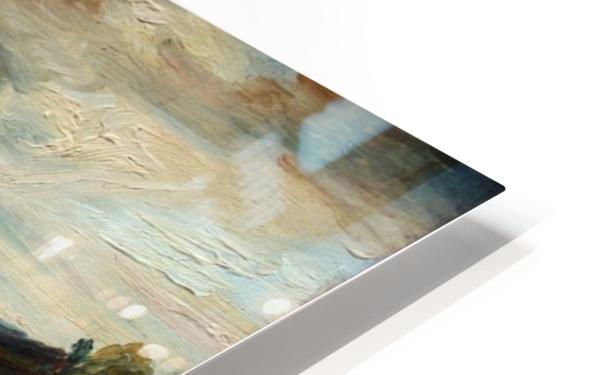 Meeresbucht in Italien HD Sublimation Metal print