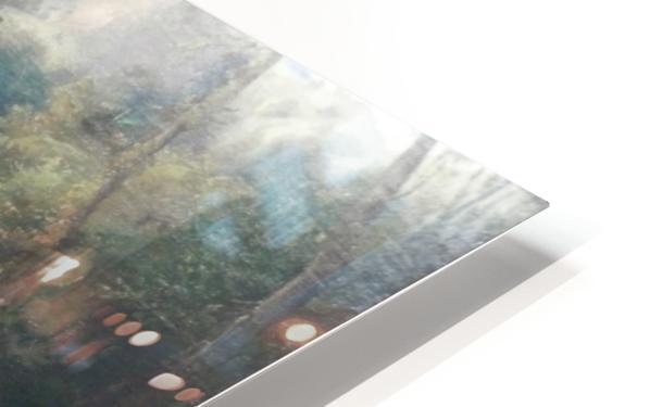 Badende Madchen im Park von Terni HD Sublimation Metal print