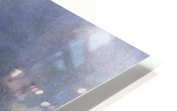 Galgenberg bei Gewitterstimmung HD Sublimation Metal print