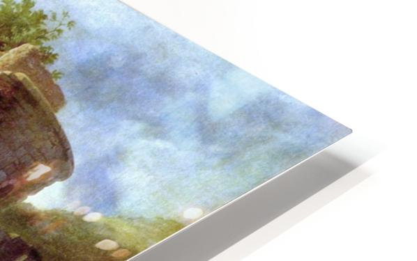 A deserted castle HD Sublimation Metal print
