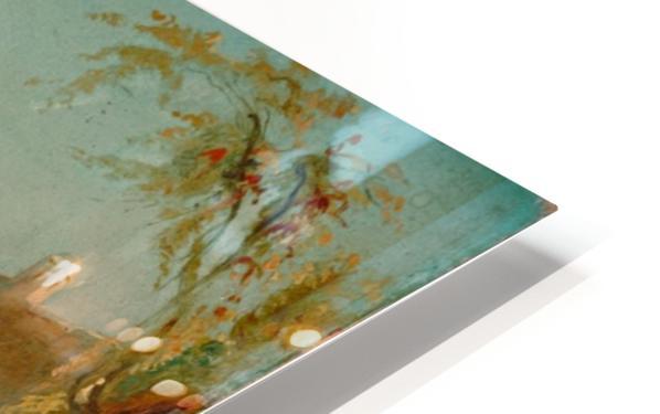 Tiberiusfelsen auf Capri HD Sublimation Metal print