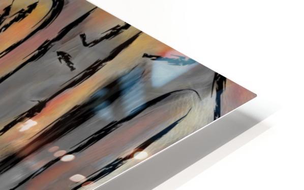 Hafanissia V1 - lady umbrella HD Sublimation Metal print