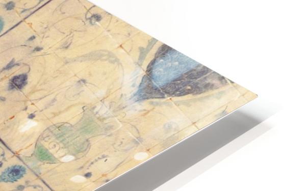An Oriental man reading HD Sublimation Metal print