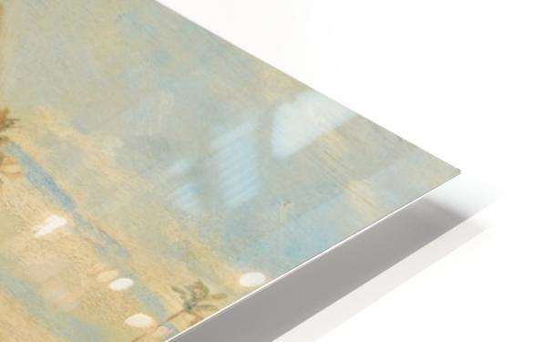 View of a pyramid HD Sublimation Metal print