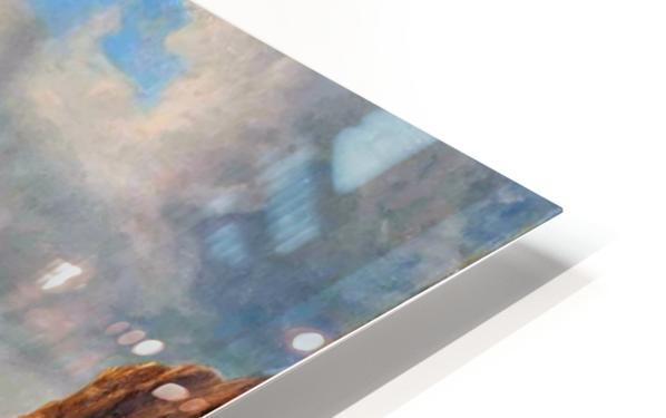 A Breezy Day off Flamborough Head HD Sublimation Metal print