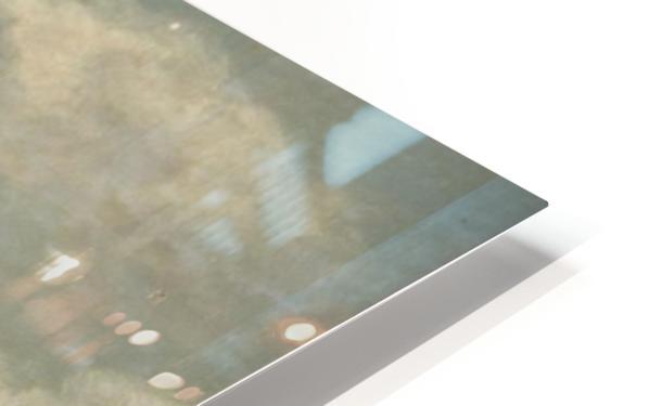 A castle on a clif HD Sublimation Metal print