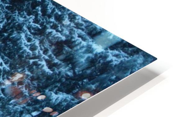 Winter Snow HD Sublimation Metal print