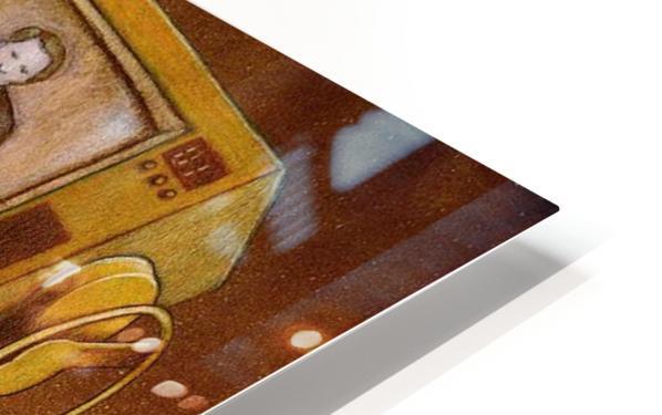 concrete mixer ( propaganda ) HD Sublimation Metal print