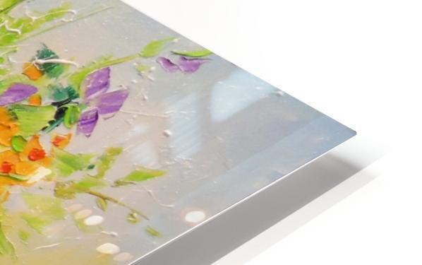 Wildflowers HD Sublimation Metal print