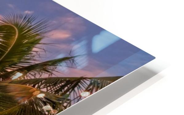 Tahitian sunsets HD Sublimation Metal print