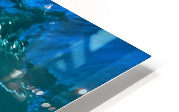 Glass wave HD Sublimation Metal print