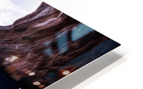 Cave diving HD Sublimation Metal print