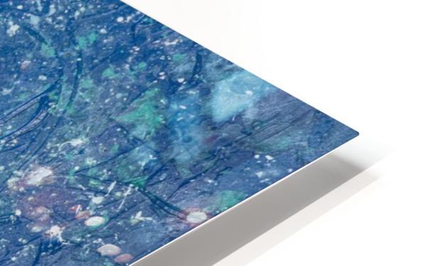 Space Race HD Sublimation Metal print