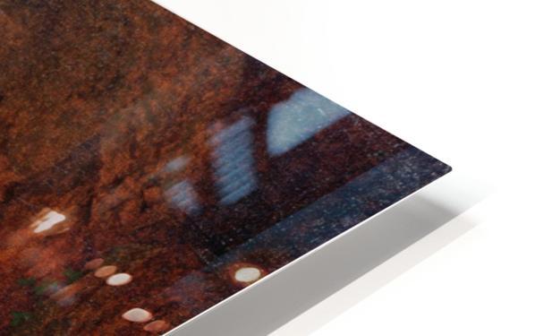 Odysseus flygter fra Polyfem HD Sublimation Metal print