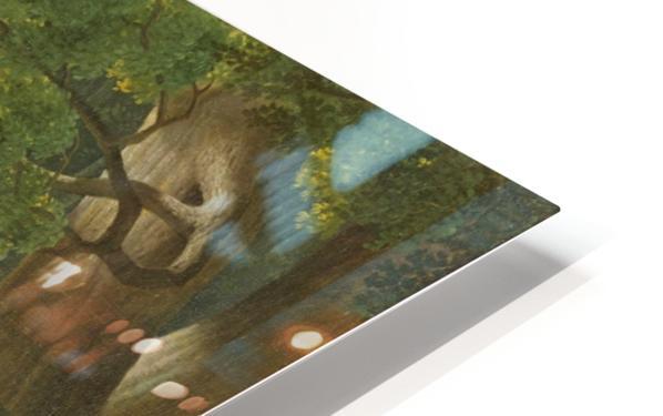 Oedipus and Antigone HD Sublimation Metal print