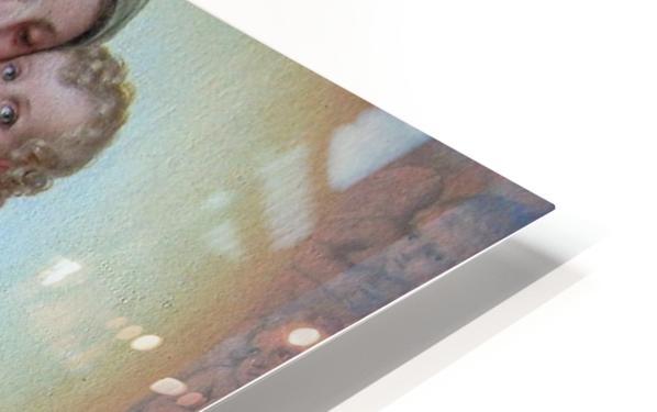 Maria med Jesusbarnet HD Sublimation Metal print