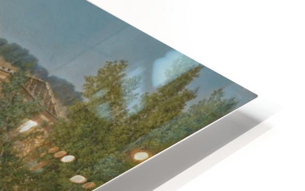 A Section of the Via Sacra, Rome HD Sublimation Metal print