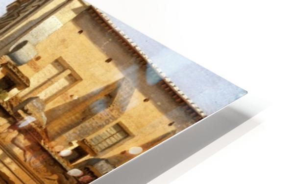 View of the Via Sacra, Rome, 1814 HD Sublimation Metal print
