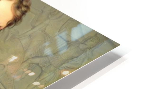 Portrait of Bertel Thorvaldsen HD Sublimation Metal print