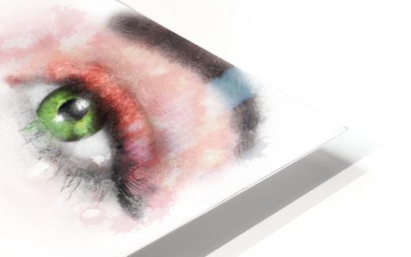 Kessania - white face HD Sublimation Metal print