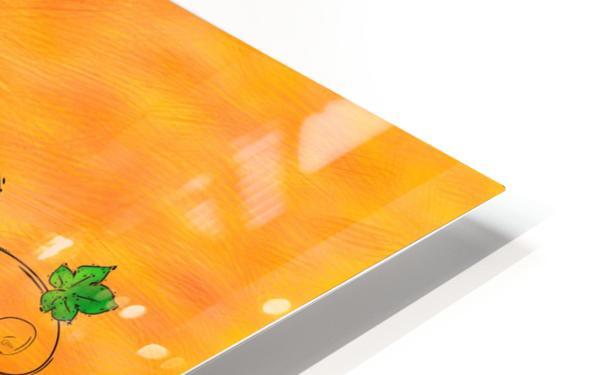 Jamurissa - square grapes HD Sublimation Metal print